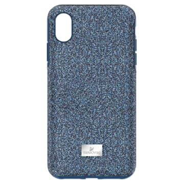 High Smartphone Case with Bumper, iPhone® XR, Blue - Swarovski, 5449141