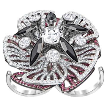 Magician 鸡尾酒戒指, 彩色设计, 多种金属润饰 - Swarovski, 5449470