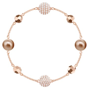 Swarovski Remix Collection Strand, Multi-colored, Rose-gold tone plated - Swarovski, 5451034