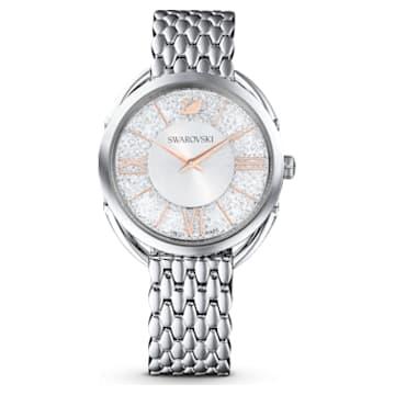 Montre Crystalline Glam, Bracelet en métal, Ton argenté, Acier inoxydable - Swarovski, 5455108