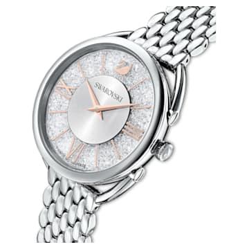 Zegarek Crystalline Glam, bransoleta z metalu, biały, stal nierdzewna - Swarovski, 5455108
