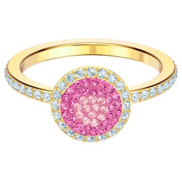 No Regrets Ring, Multi-colored, Gold-tone plated - Swarovski, 5457494