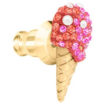 Pendientes No Regrets Ice Cream, multicolor, Baño en tono Oro - Swarovski, 5457497