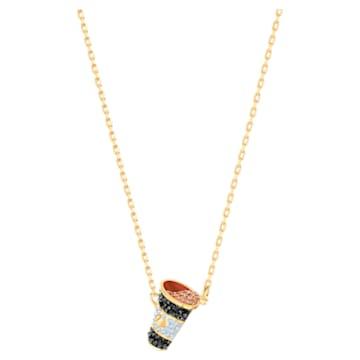 Nicest set, Multicolored, Gold-tone plated - Swarovski, 5459142