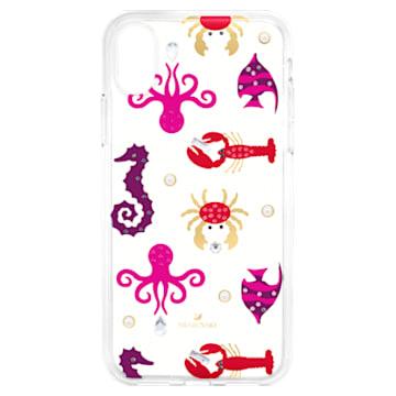 Sea Life Smartphone Case with integrated Bumper, iPhone® X/XS, Transparent - Swarovski, 5459361