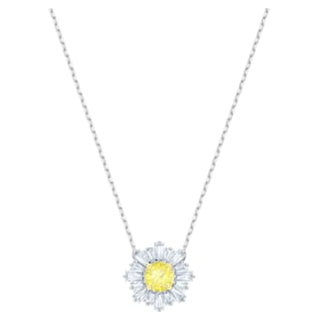 Přívěsek Sunshine, Žlutý, Rhodiem pokovený - Swarovski, 5459588