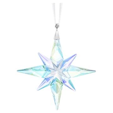 Csillag formájú dísz, Aurora Borealis-bevonattal, kicsi - Swarovski, 5464868