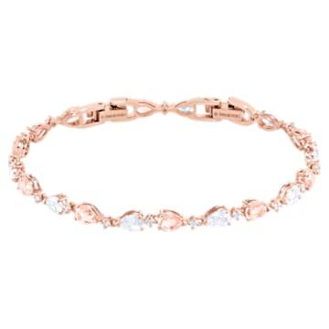 Vintage Armband, Rosa, Roségold-Legierungsschicht - Swarovski, 5466883