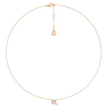 Zodiac Necklace, Scorpio - Swarovski, 5468514