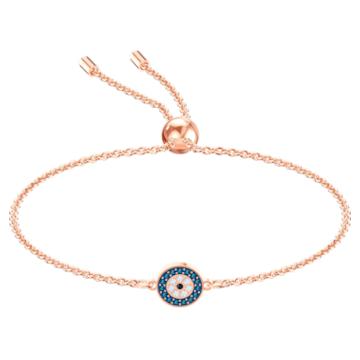 Luckily Armband, mehrfarbig, Rosé vergoldet - Swarovski, 5468924
