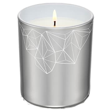 Candle, Walnut & Fig, Small, Silver tone - Swarovski, 5471053