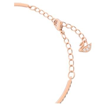 Swarovski Sparkling Dance Oval Armband, Weiss, Roségold-Legierungsschicht - Swarovski, 5472382
