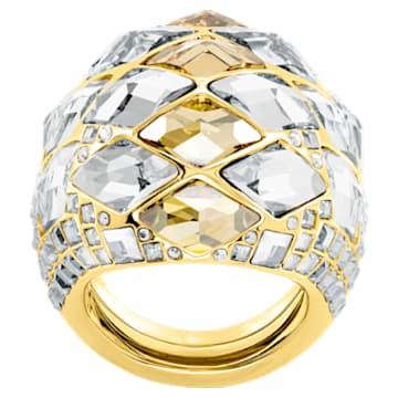 Notorious Cocktail 戒指, 多色設計, 鍍金色色調 - Swarovski, 5473761