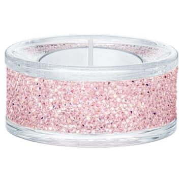 Portavelas Shimmer, rosa - Swarovski, 5474276