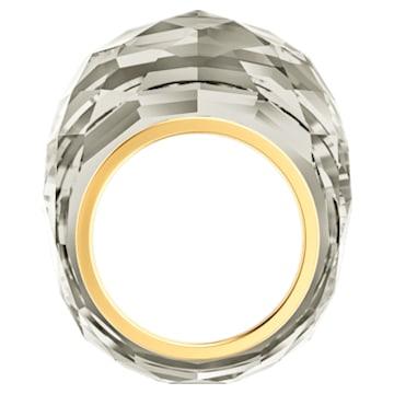 Anello Swarovski Nirvana, grigio, PVD tonalità oro - Swarovski, 5474357