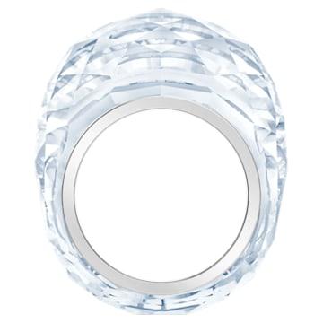 Nirvana ring, Silver tone, Stainless steel - Swarovski, 5474362