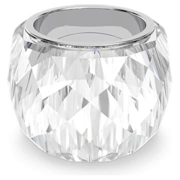 Nirvana ring, Silver tone, Stainless steel - Swarovski, 5474363