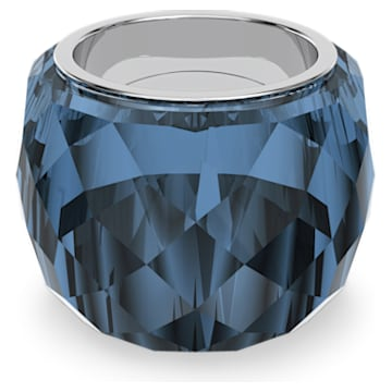 Prsten Nirvana Swarovski, modrý, nerezová ocel - Swarovski, 5474371