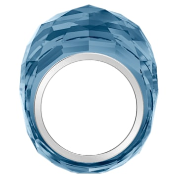 Swarovski Nirvana Ring, Blue, Stainless Steel - Swarovski, 5474372