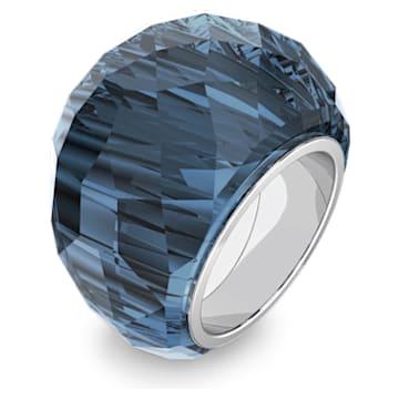 Anel Swarovski Nirvana, azul, aço inoxidável - Swarovski, 5474373