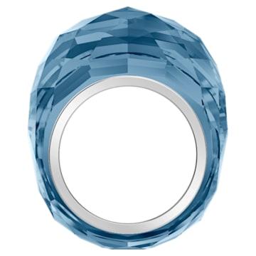 Swarovski Nirvana-ring, Blauw, Roestvrij staal - Swarovski, 5474373