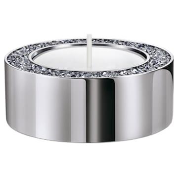 Minera teamécsestartó, kicsi, ezüst tónusú - Swarovski, 5474386