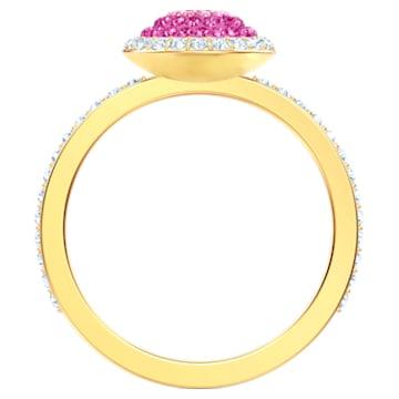 No Regrets Ring, Multi-coloured, Gold-tone plated - Swarovski, 5474419