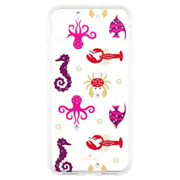 Sea Life Smartphone case with integrated Bumper, iPhone® XS Max, Transparent - Swarovski, 5474751