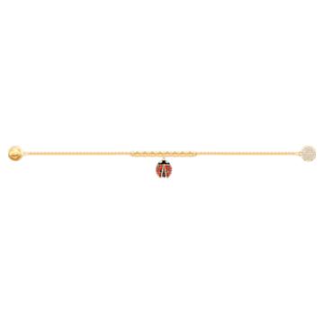 Brățară gărgăriță Swarovski Remix Collection, multicoloră, placată în nuanță aurie - Swarovski, 5479018