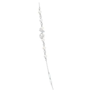 Colier Leonore Strandage, Multicoloră, Placat cu rodiu - Swarovski, 5479976