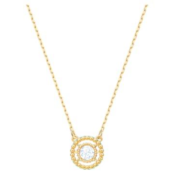 Oxygen necklace, Multicoloured, Gold-tone plated - Swarovski, 5481256