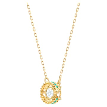 Colier Oxygen, Multicoloră, Placat cu auriu - Swarovski, 5481256