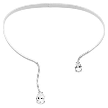 Arc-en-ciel Collar, Swarovski Genuine Topaz & Swarovski Created Diamonds, 18K White Gold - Swarovski, 5481750