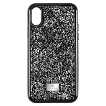 Custodia per smartphone Glam Rock, iPhone® XR, Nero - Swarovski, 5482282