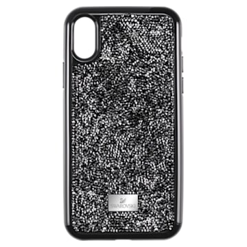 Glam Rock 智能手機防震保護套, iPhone® XS Max, 黑色 - Swarovski, 5482283