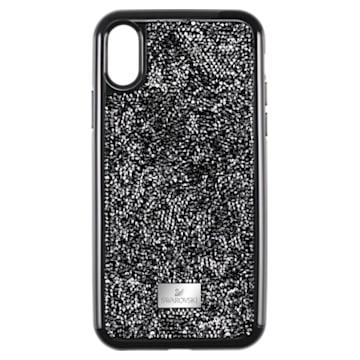 Glam Rock Smartphone Schutzhülle mit Stoßschutz, iPhone® XS Max, schwarz - Swarovski, 5482283
