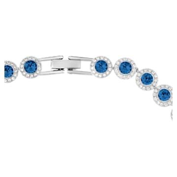 Angelic Halskette, Blau, Rhodiniert - Swarovski, 5482698