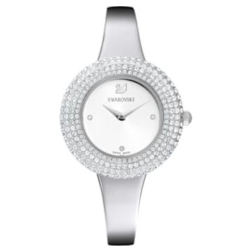 Crystal Rose 腕表, 金属手链, 银色, 不锈钢 - Swarovski, 5483853