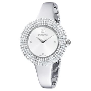 Crystal Rose 手錶, 金屬手鏈, 銀色, 不銹鋼 - Swarovski, 5483853