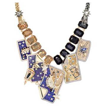 Chromancy Necklace, Multi-coloured, Mixed metal finish - Swarovski, 5486027