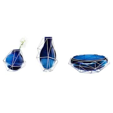Vase Framework, bleu - Swarovski, 5488383