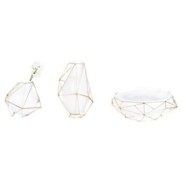 Framework Vase, kleine, weiss - Swarovski, 5488385