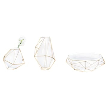 Framework Vase, Small, White - Swarovski, 5488385
