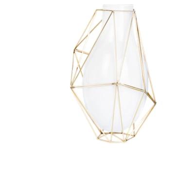 Framework Vase, Large, White - Swarovski, 5488386