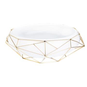 Framework Bowl, White - Swarovski, 5488387
