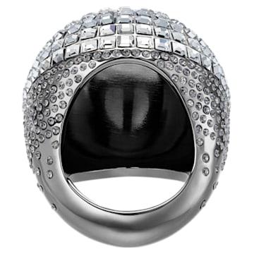 Celestial Fit Cocktail 戒指, 灰色, 黑釕 - Swarovski, 5489079
