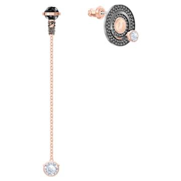 Play Pierced Earrings, Multi-colored, Mixed metal finish - Swarovski, 5489441