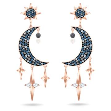 Swarovski Symbolic Ohrringe, mehrfarbig, Metallmix - Swarovski, 5489536