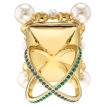 Vintage Opulescence Cocktail 戒指, 多色設計, 鍍金色色調 - Swarovski, 5490225