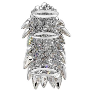 Polar Bestiary Cocktail Ring, Multi-coloured, Rhodium plated - Swarovski, 5490239